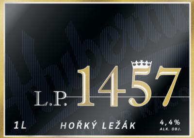 L. P. 1457 hořký ležák