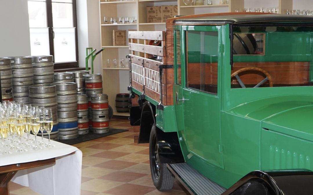 Pivovar otevřel novou prodejnu